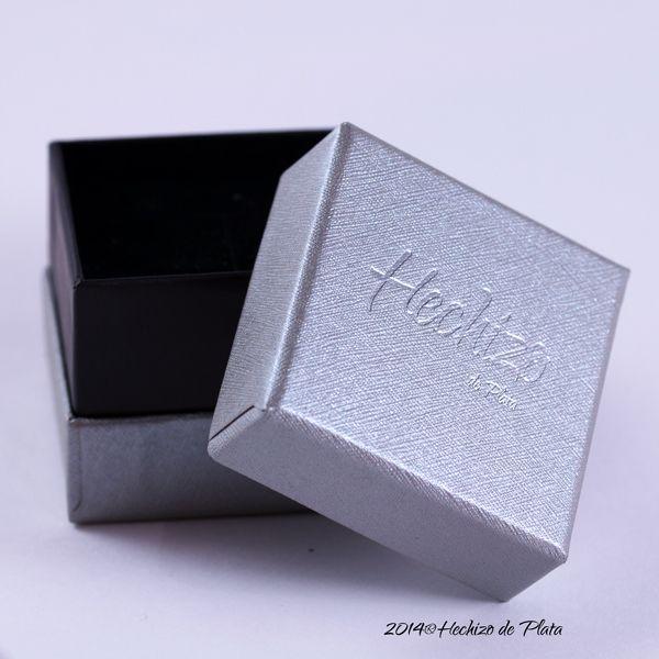 caja para Joyería de Hechizo de Plata Joyería