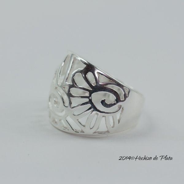 Anillo de plata liso de Hechizo de Plata Joyería