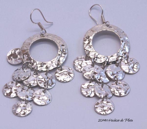 Pendientes de plata de Hechizo de Plata joyería de plata