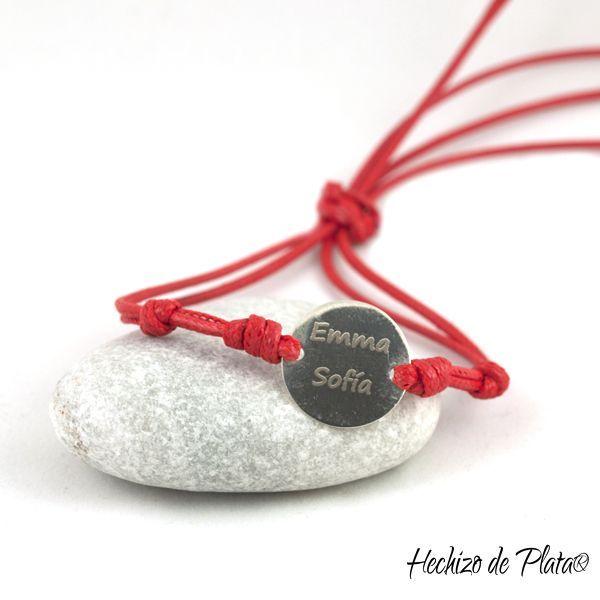 Pulsera de pata personalizada de Hechizo de Plata Joyería