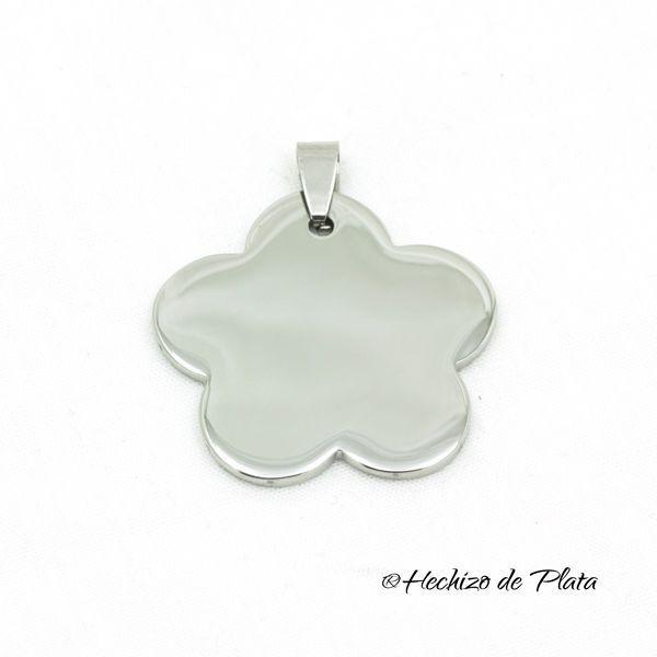 Flor de acero de Hechizo de Plata Joyería