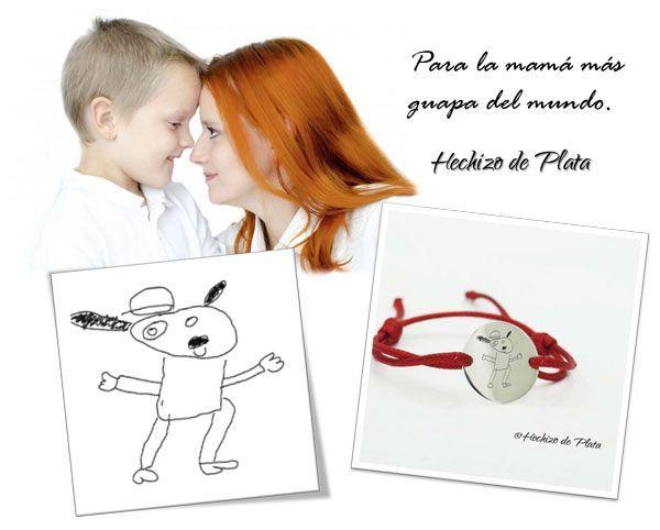 pulsera-de-plata-con-dibujo-de-Hechizo-de-Plata-Joyería