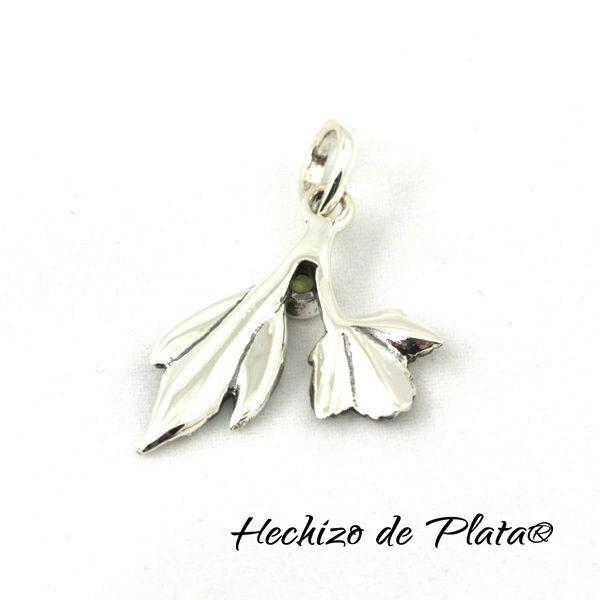 Colgante de Plata y piedra semipreciosa de Hechizo de Plata