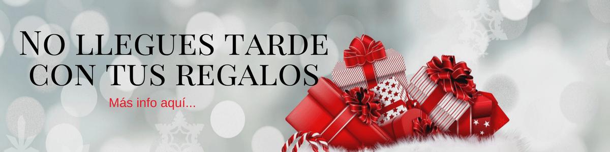 Plazos regalos de navidad