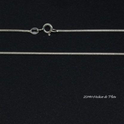 Cadena de plata lisa de Hechizo de Plata Joyería