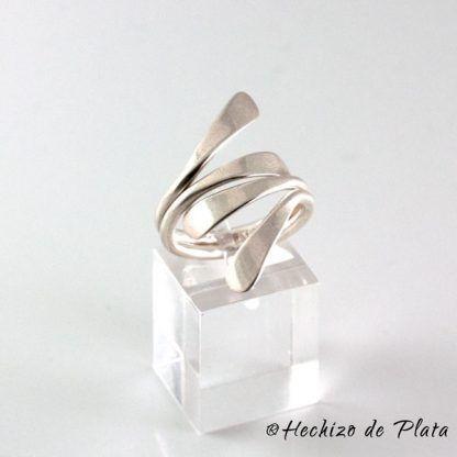 anillo de plata original de Hechizo de Plata Joyería