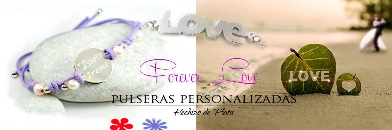 pulseras-forever-love de Hechizo de Plata Joyería