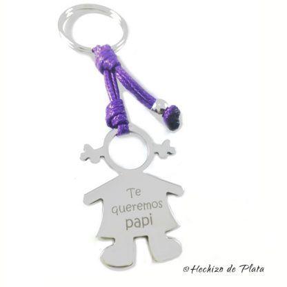 llavero regalo papa niña