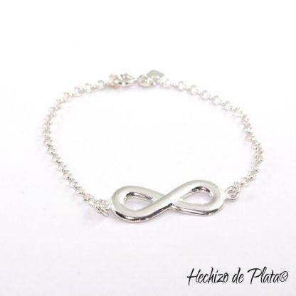Pulsera infinito de plata de Hechizo de Plata Joyería