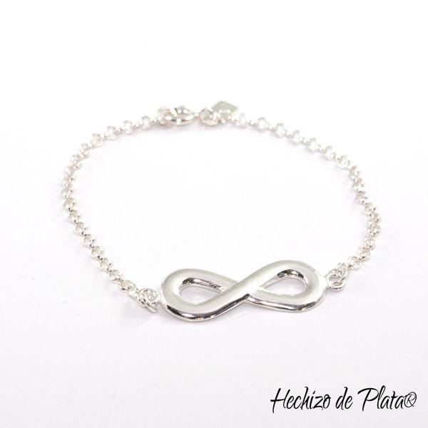 Pulsera de plata infinito de Hechizo de Plata Joyería
