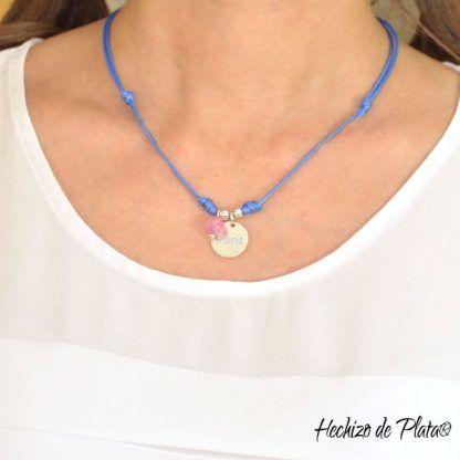 medallla personalizada de Hechizo de Plata Joyería