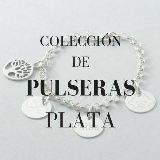 pulseras personalizadas con cadena de plata