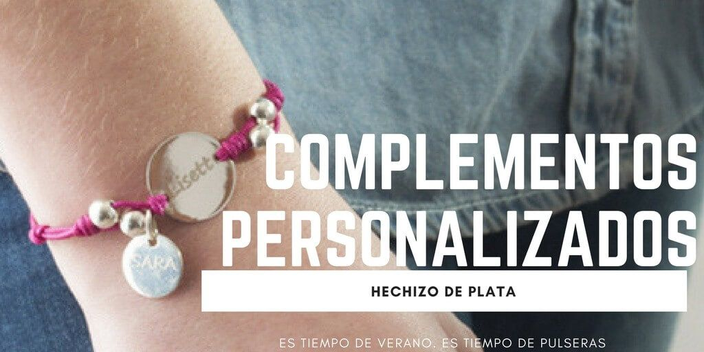 Complementos personalizados de Hechizo de Plata