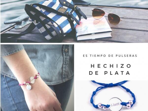 pulseras de moda de Hechizo de Plata