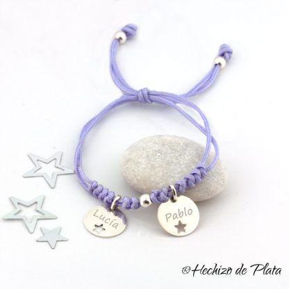 pulsera grabada para mamas de Hechizo de Plata