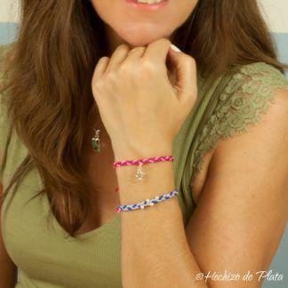 Packs de pulseras coloridas de Hechizo de Plata joyería