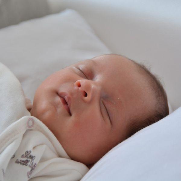 foto de bebe durmiendo
