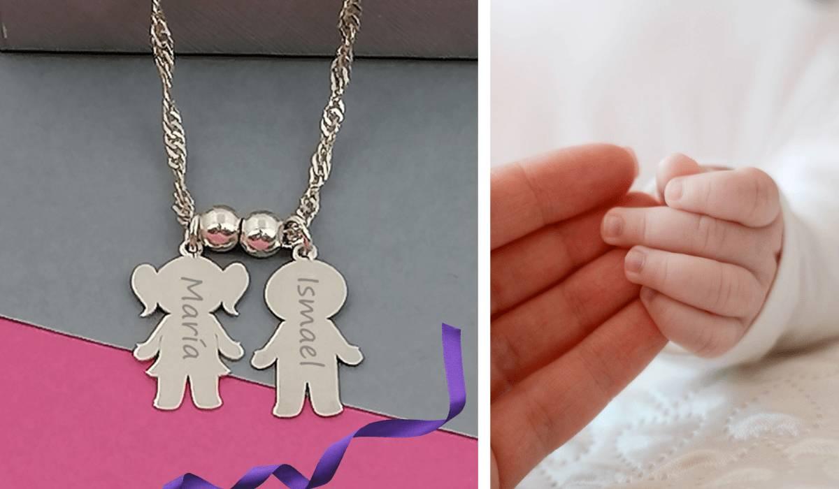 Colgante personalizado niños de Hechizo de Plata joyería